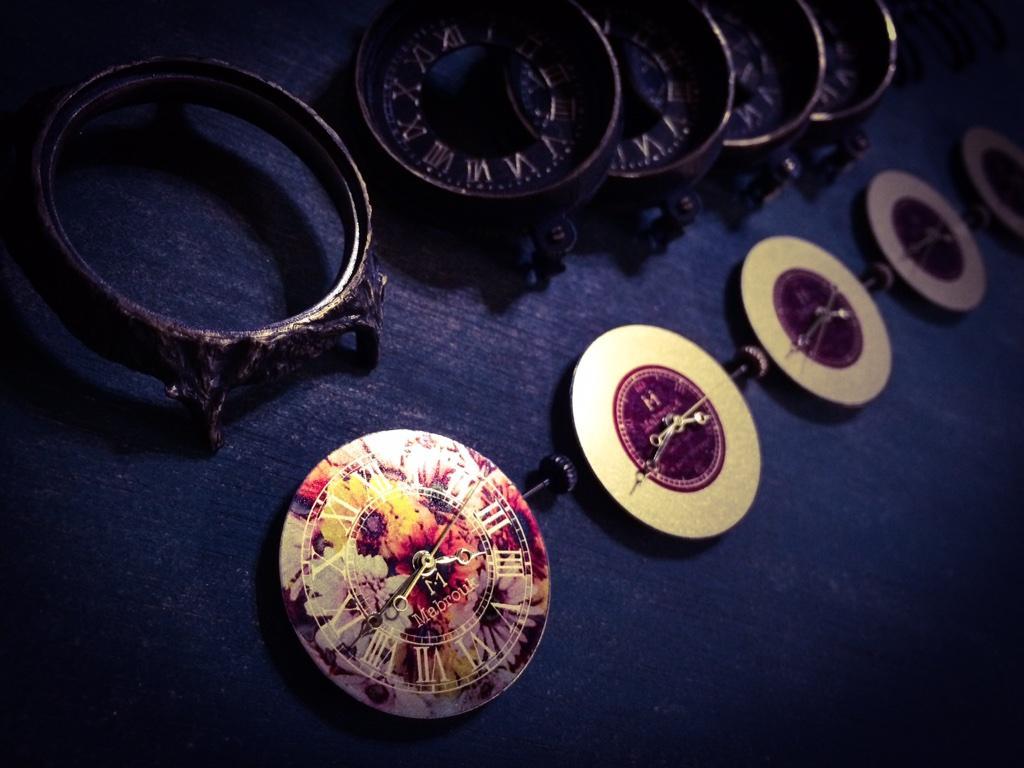 ハンドメイド腕時計 製作方法