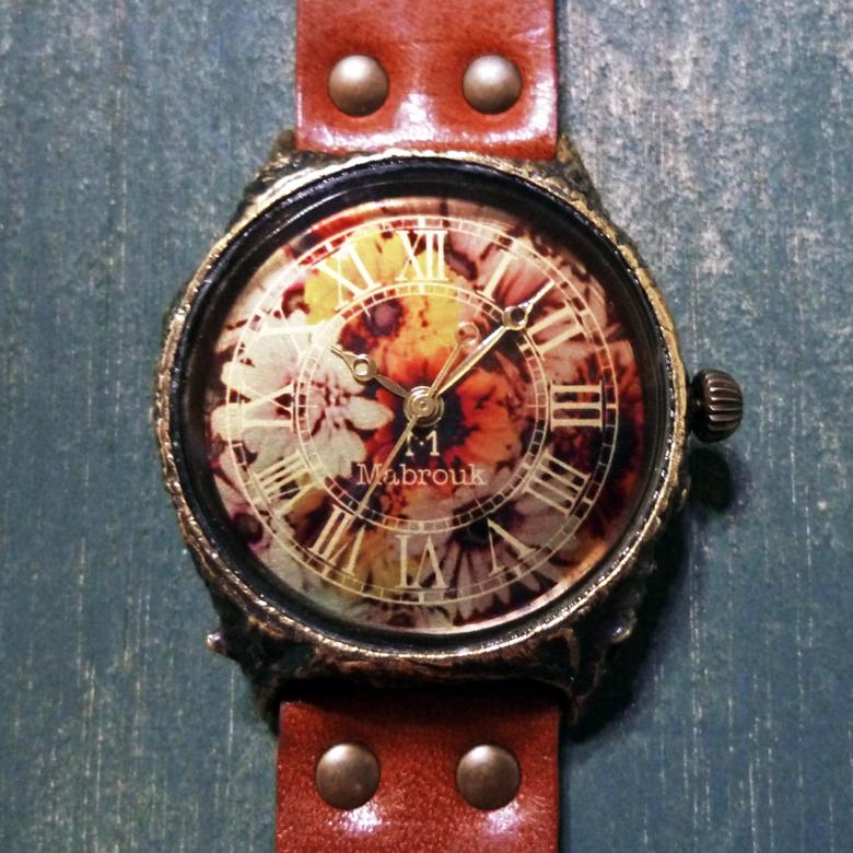 手作り腕時計 自作