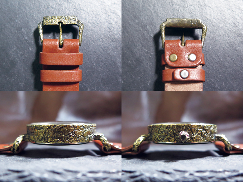 手作り腕時計 尾錠
