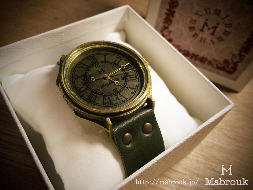 レトロ調 腕時計