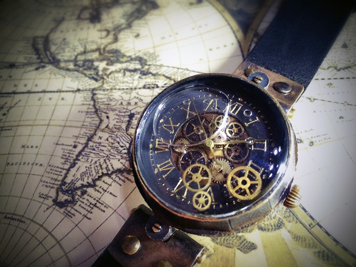 歯車 時計