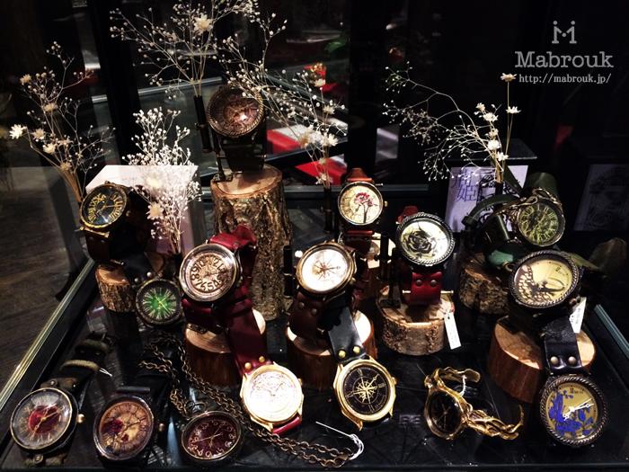 原宿 手作り時計