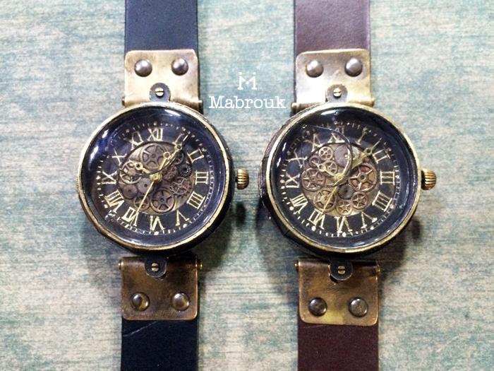 歯車 腕時計