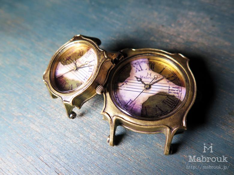 弦楽器 時計