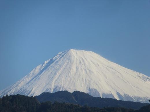 3/8 9時過ぎの富士山 2