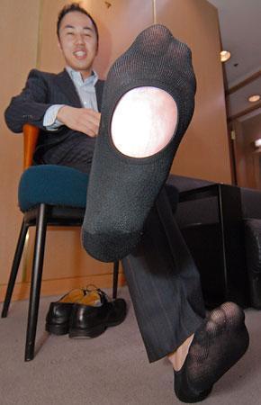 クールビズ靴下