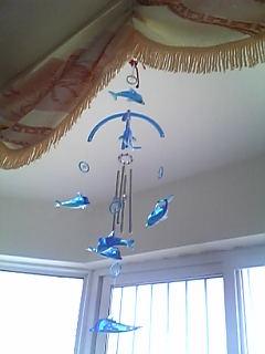 沖縄で買った風鈴(中国まで持ってきました)