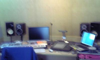 録音スタジオ こっち側