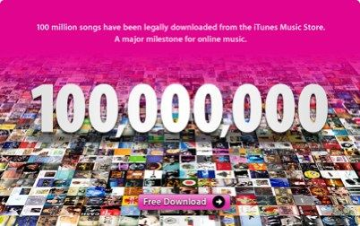 100,000,000 songs download
