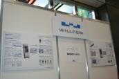 WILLCOMブース