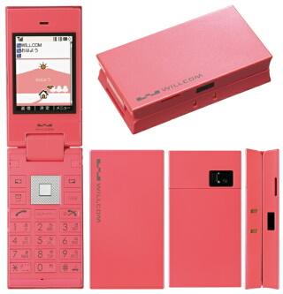 WILLCOM 9 ピンク