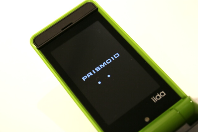 PRISMOID 電源投入時の表示
