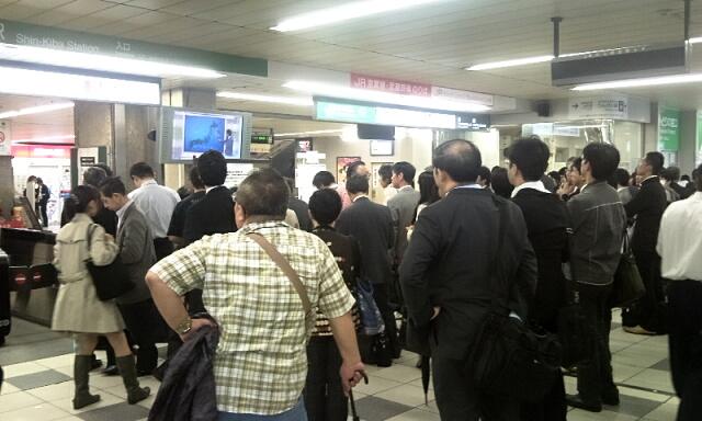 京葉線改札付近