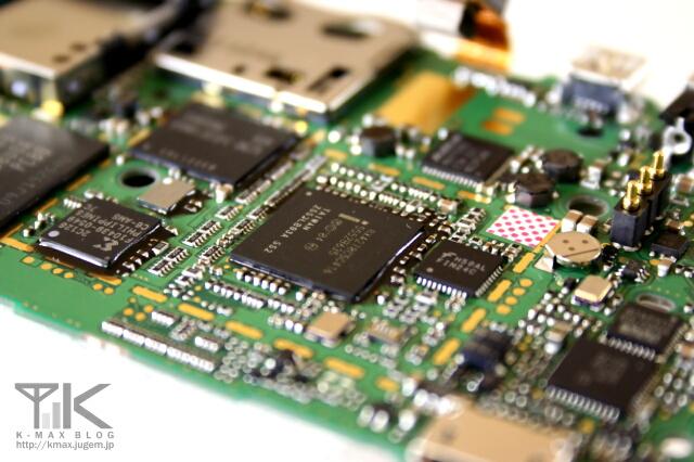 W-ZERO3(WS003SH) 基板