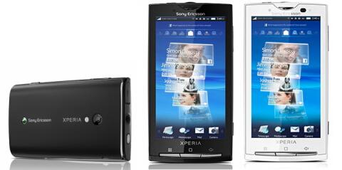 XPERIA X10(Sony Ericsson製)