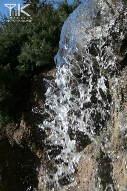 滝をフツーに撮ってみたり。