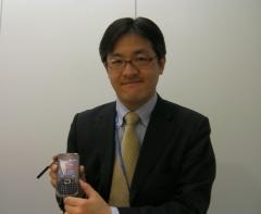 サムスンテレコムジャパン端末営業部次長 阿部さん