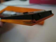 バッテリーと蓋は一体型
