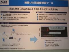無線LAN混雑度測定ツール概要