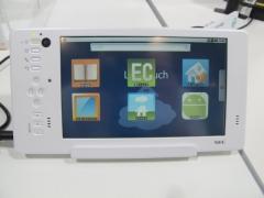 NEC製Androidタブレット LifeTouchの試作