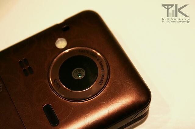 docomo STYLE series SH-04C Choco カメラ