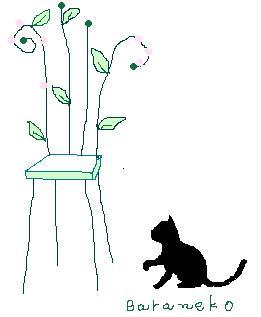 椅子と黒猫2