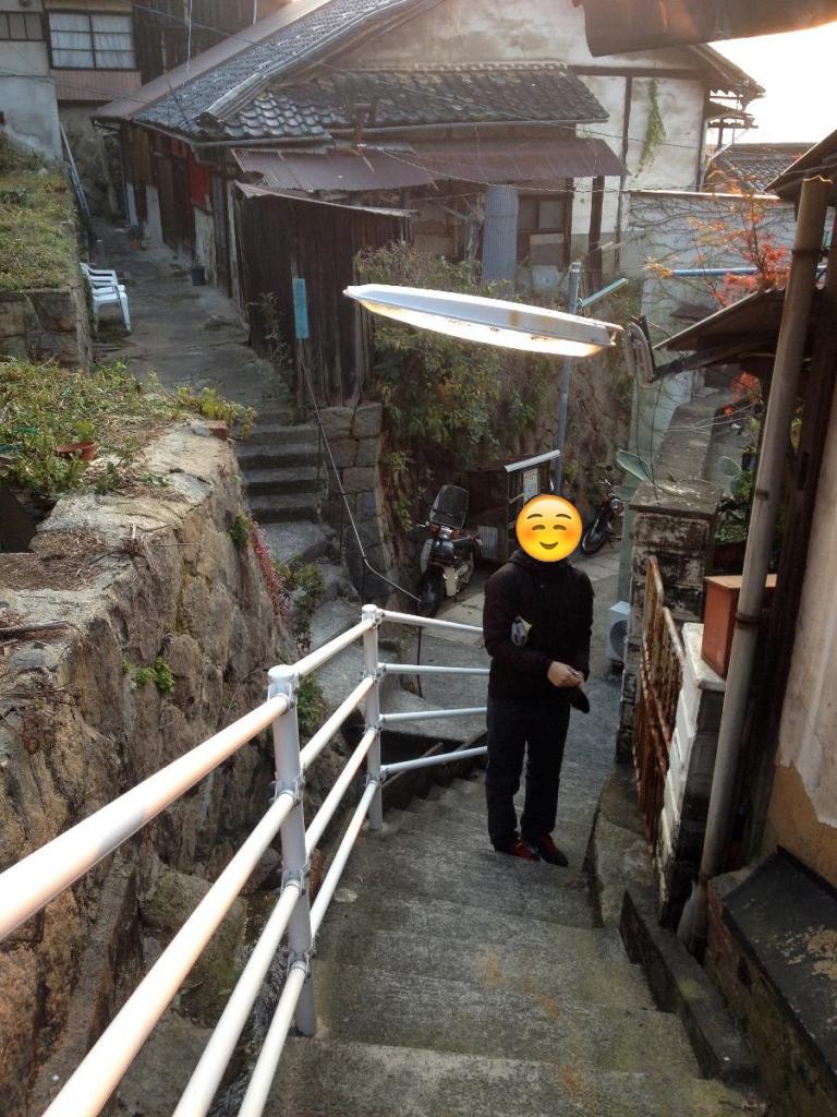 尾道・ネコノテパン工場前