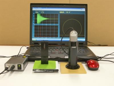 ポータブル接触角測定器