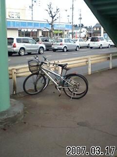 不動前自転車駐輪