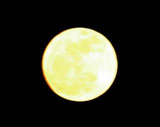 宇都宮からのお月様