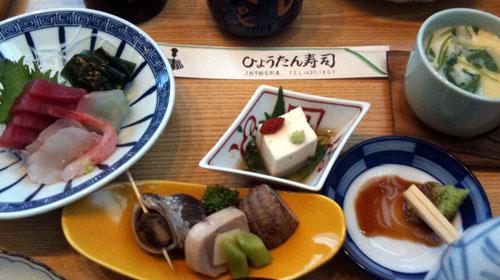 ひょうたん寿司りょうり