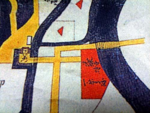 下河原門絵図