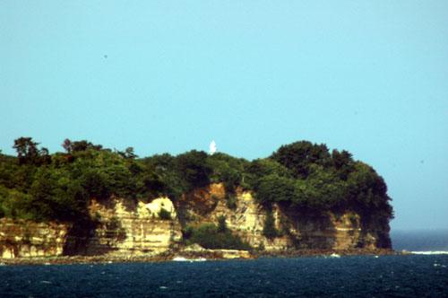 大津岬と灯台