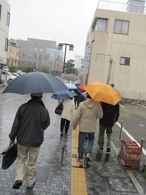 傘の花咲く歴史軸
