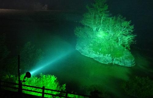 阿賀野川ライトアップ