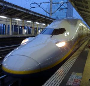 新幹線先頭車