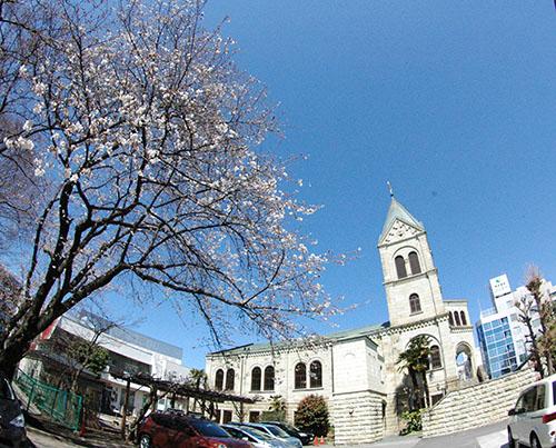 桜の松が峰教会