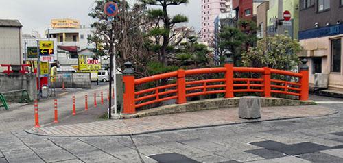 御橋 下流側