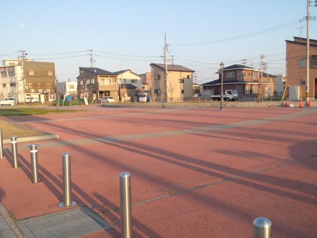 港町公園海側から