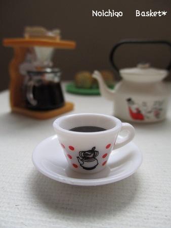 小さなコーヒーカップ♪