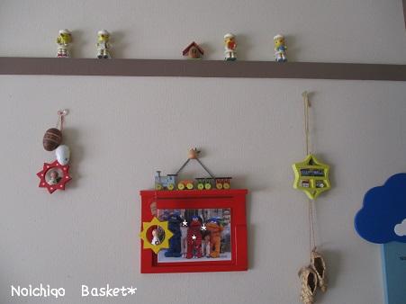 部屋の壁☆