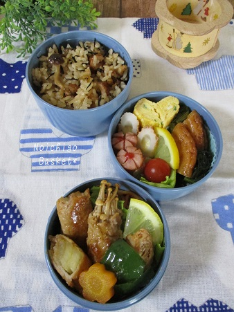 野菜肉巻き弁当★