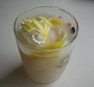 アイスレモンミルクティー