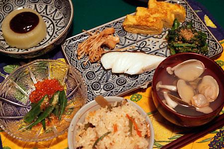 2010ひな祭りご飯