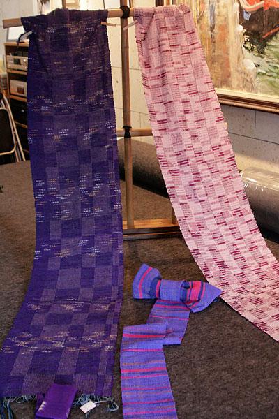 たんぽぽさんの織り作品