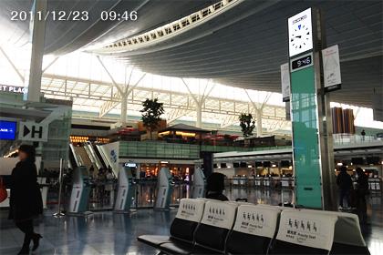 羽田空港国際線出発ロビー