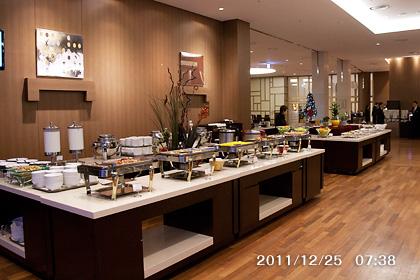 扶余ロッテリゾートの食堂