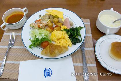 コモドホテル慶州の朝食