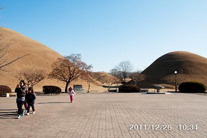 大陵苑の古墳