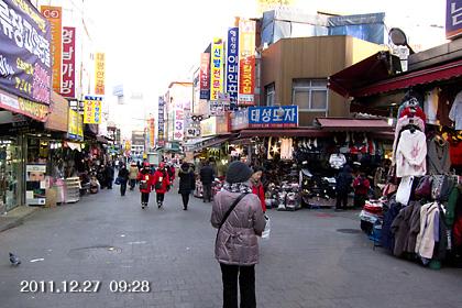 韓国/ソウル・南大門市場